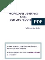 propiedades de sistemas sensoriales