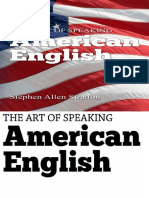 The Art of Speaking American en - Stephen Stratton