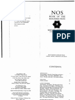 Miguel Serrano – NOS – the Book of the Resurrection