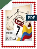 Batalla de Boyaca.