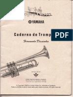 Caderno de Trompete Fernando Dissenha