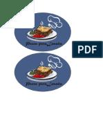 logotipo lasaña