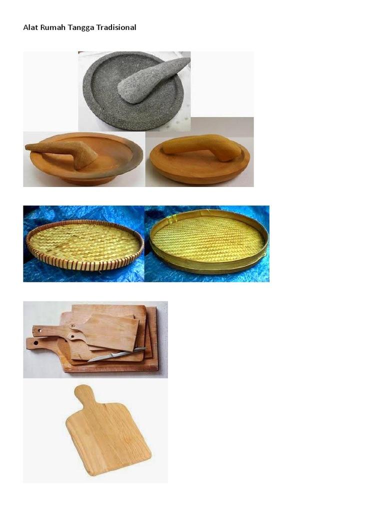 Peralatan Rumah Tangga Tradisional