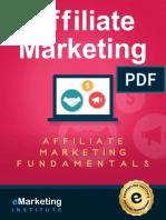 Affiliate Marketing Course EMarketing Institute eBook 2018 Edition