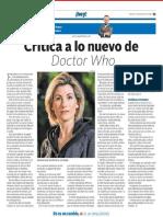 DOCTOR WHO CRITICA DE MILENIO