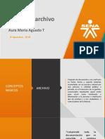 Presentación archivo 2018