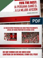Fifa the Best PERU - MEJOR HINCHADA RUSIA 2018