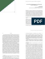 Bahr (2010). Los Escépticos Modernos y El Cogito Cartesiano