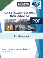 Concienciación Oea - Basc Now Logistics