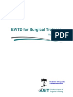 EWTD for Surgical Trainees Final 1