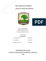 Makalah Lingkungan Etika Dan Bisnis