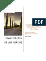 Clasificación de Los Flujos de Fluidos