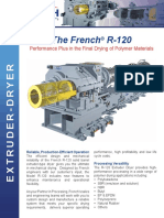 French R 120 Extruder Dryer