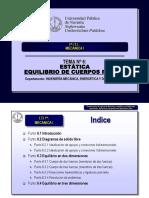 EQUILIBRIO DE CUERPOS RIJIDAS