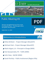 Interstate 91 meeting presentation