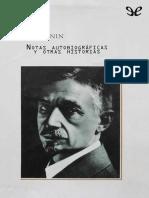 Bunin, Ivan Alekseevich - Notas Autobiog(..)