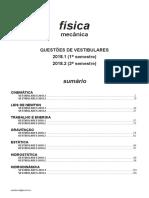 Física - Mecânica - Vestibulares 2018