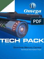 Tech Pack Downhole Memory Camera