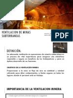 ventilacion minera