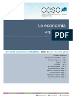 Informe Economico Mensual Nro Ix - Septiembre 2018 - Prensa