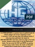 H.G PUBLICATIONS