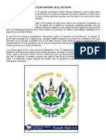 Simbolos Patrios de El Salvador - Escudo Nacional de El Salvador