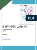 Le Mappe Mentali...a Modo Mio