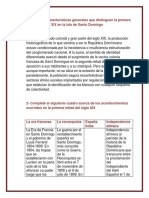Historia Social Dominicana Tarea 4