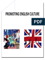 Promoting English Culture