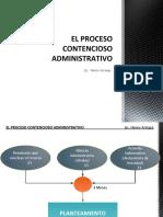 El Proceso Contencioso Administrativo