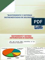 Mantenimiento y Sistemas Instrumentados de Seguridad