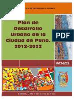 PLAN DE DESARROLLO URBANO DE LA CIUDAD DE PUNO - 2012-2022.pdf
