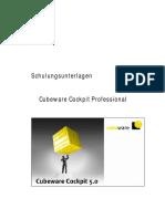 Schulungsunterlagen. Cubeware Cockpit Professional