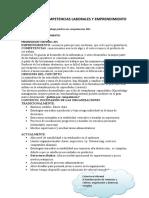 Clases Desarrollo Competencias Laborales y Emprendimiento