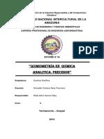 Informe de Quimica 06 Para Hoy de Rada