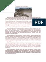 Masalah Lingkungan Dalam Pembangunan Lahan Pertambangan