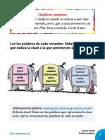 1. y 2. Idea Principal_clasificar Palabras