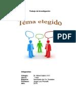 Trabajo de Investigación de Ciencias Sociales