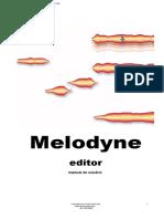 Manual melodyne