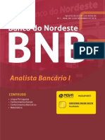 Bnb - Banco Do Nordeste Do Brasil - Analista Banc Rio 1