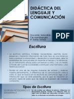 "Didã_ctica Del Lenguaje y Comunicaciã""n Escritura"