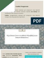 Validitas Dan Reliabilitas Data