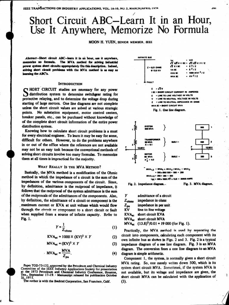 on a b c circuit diagram