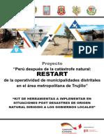 Kit Herramientas Post Desastres