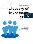 StockCentral Glossary of Investment Terms