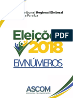 Quase 3 milhões de paraibanos estão aptos a votar no domingo; confira números