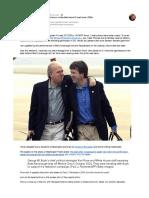 Brett Kavanaugh and Karl Rove share an unidentified (secret?) lapel button (2004) (Reed)