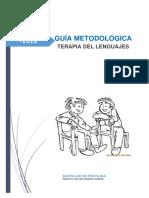 Guia Terapia Del Lenguaje.