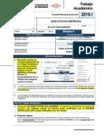 DIRECCION DE EMPRESAS