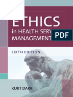 Ethics in Health Services Management, Sixth Edition (Excerpt)